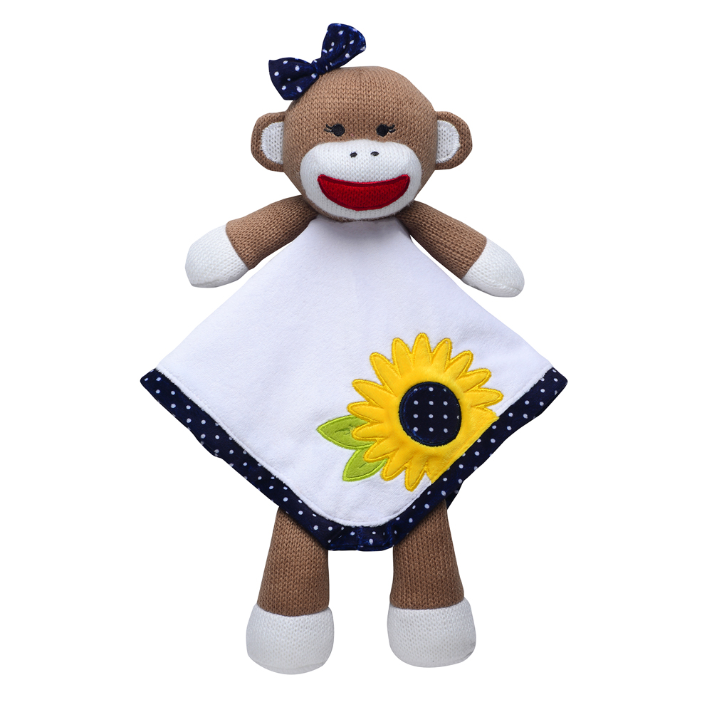 Plush Toys Product : Baby security blanket plush toy