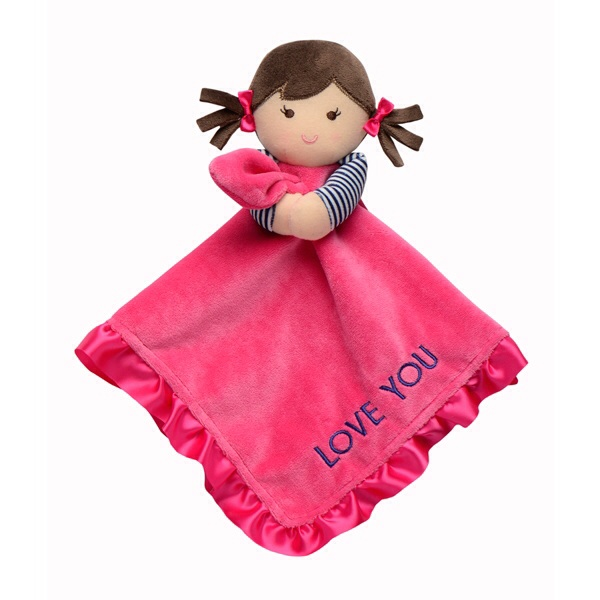 Baby Security Blanket Doll