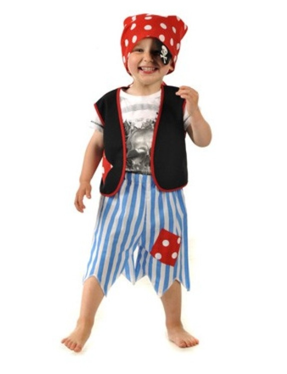 Pirate Boy Dress Up Costume  sc 1 st  Bub-Pals Australia & Pirate Boy Dress Up Costume - Bub-Pals Australia