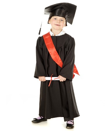 Graduation Gown Preschool Bub Pals Australia