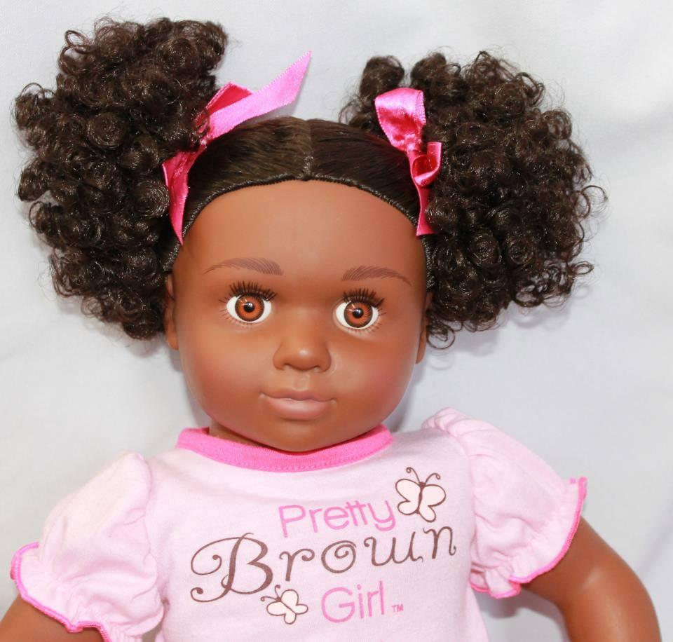 pretty brown girl doll australia