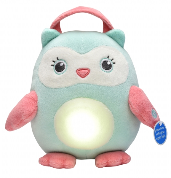 plush night light owl